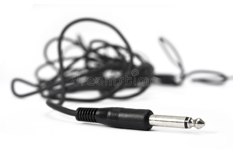 耳机插件 图库摄影