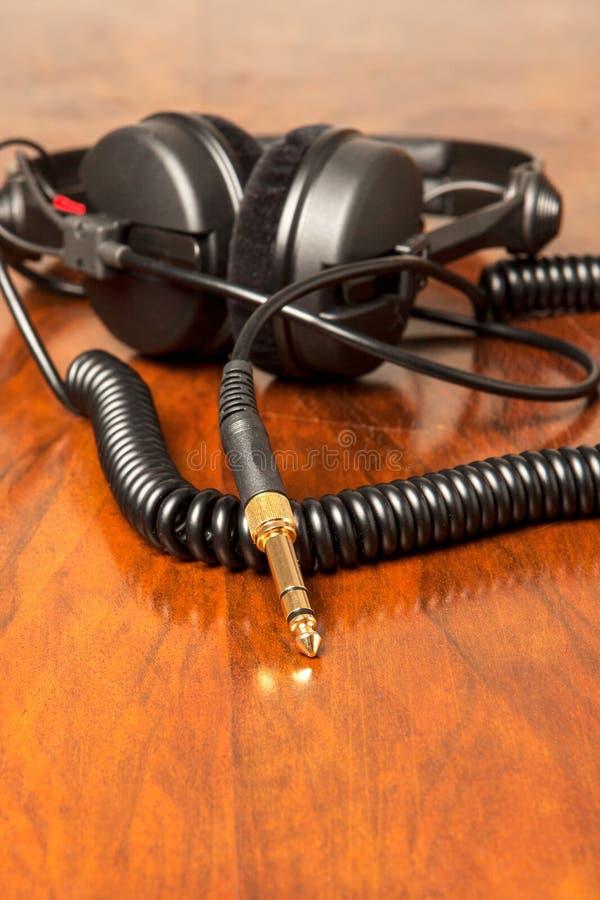 耳机插塞 库存图片