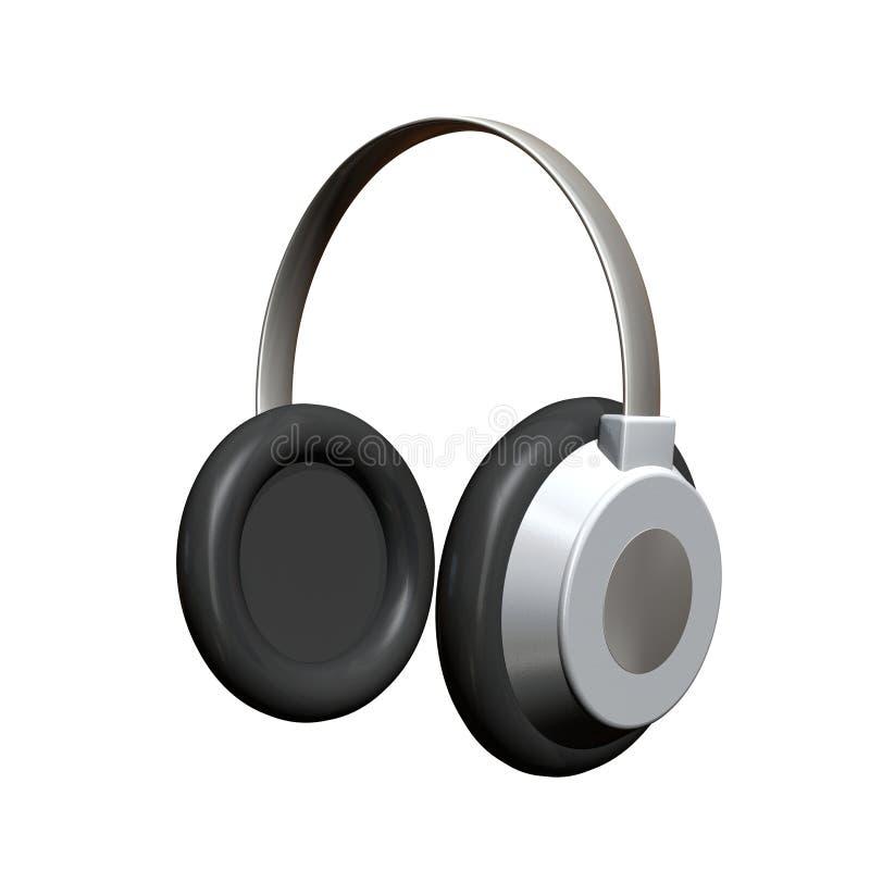 耳机 向量例证