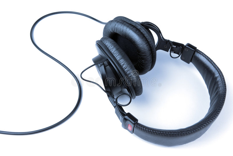 耳机 图库摄影