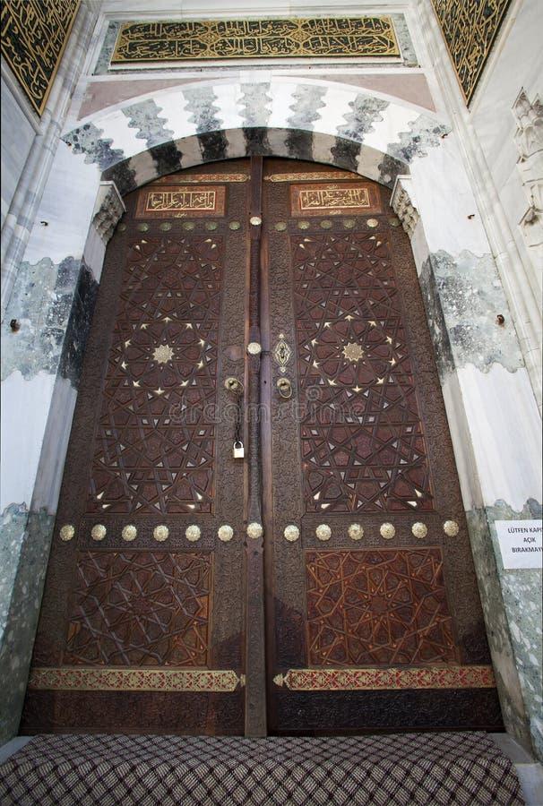 巴耶济德二世清真寺camii,爱迪尔内,土耳其 免版税库存照片