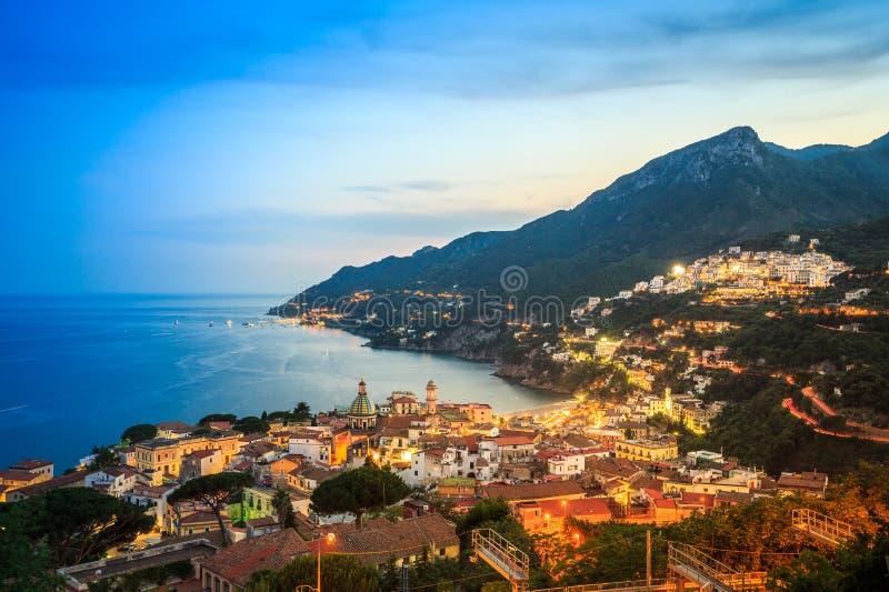 维耶特利苏玛雷,阿马尔菲海岸,萨莱诺,意大利 库存照片