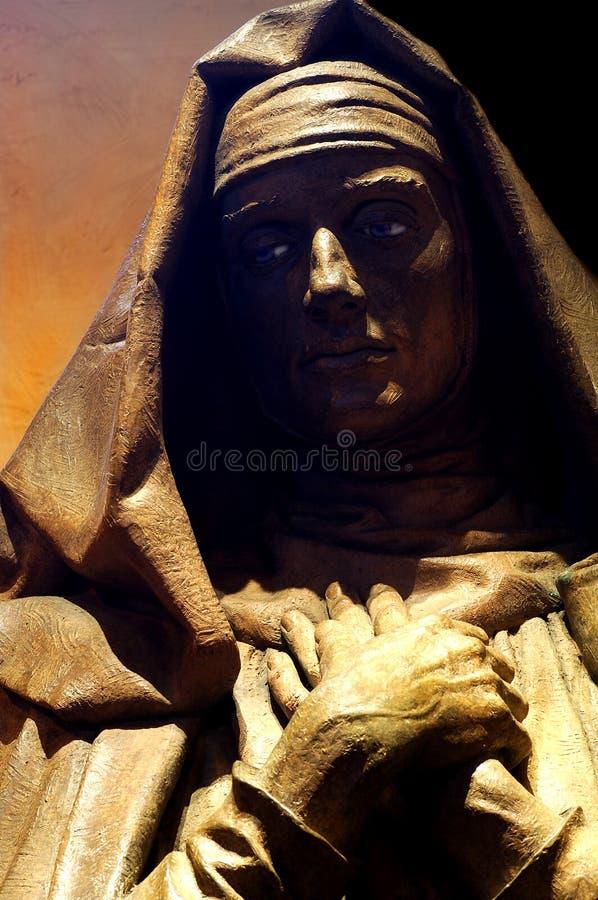 耶稣・玛丽母亲 免版税库存照片