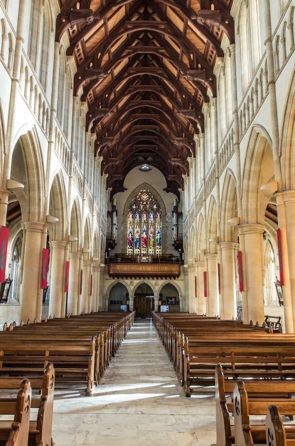 耶稣圣心大教堂在本迪戈,澳大利亚 图库摄影
