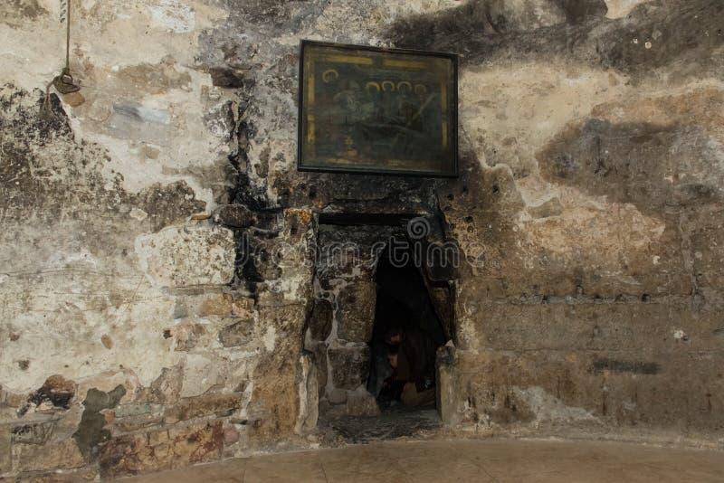 耶稣基督坟茔 免版税库存照片