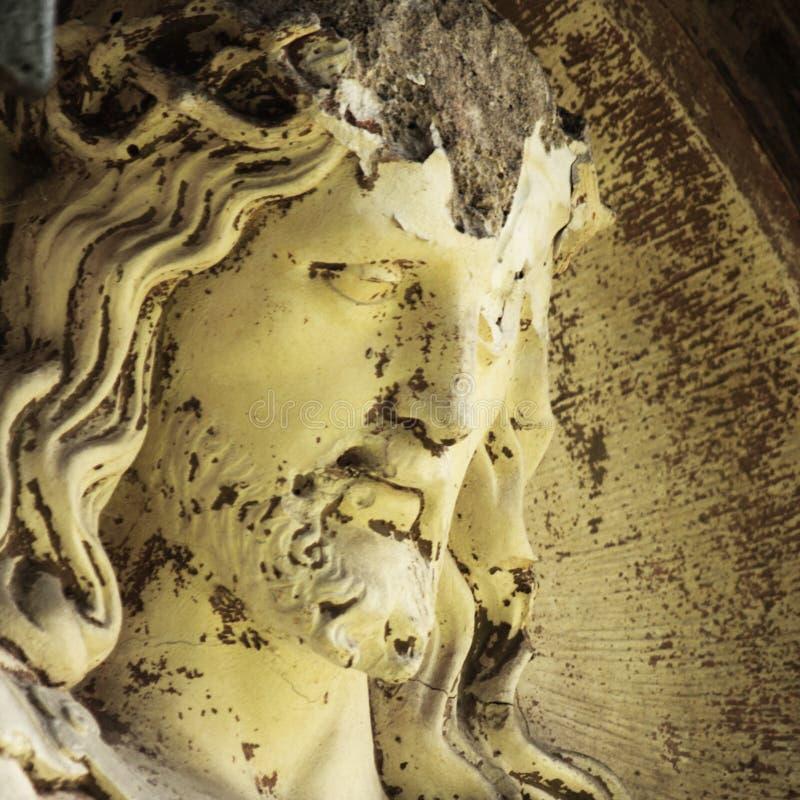 耶稣基督的断面孔 免版税库存照片