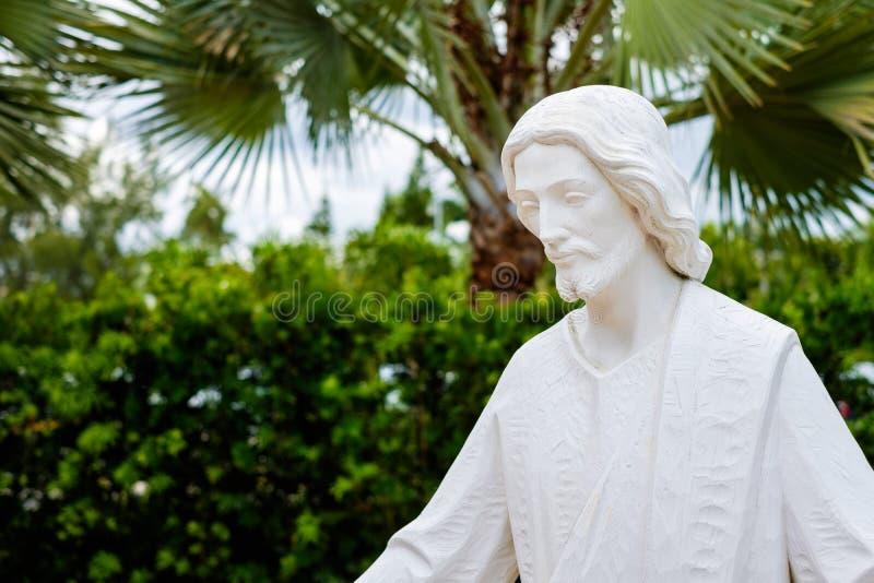 耶稣基督雕象 免版税库存图片