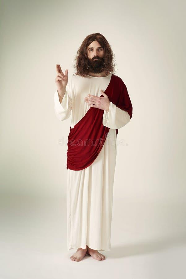 耶稣基督 图库摄影