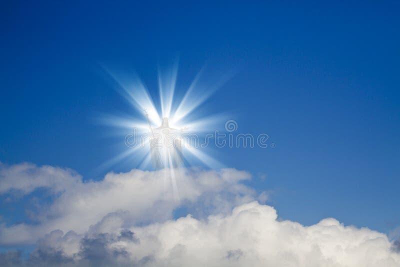 耶稣天堂 免版税库存图片