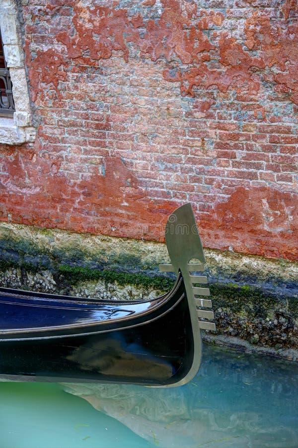 耶老岛的长平底船 免版税库存照片