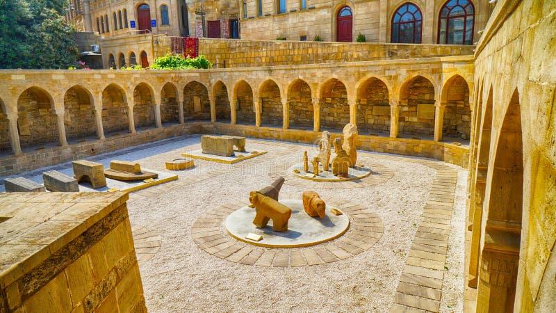 耶路撒冷旧城& x28; İçəriÅŸÉ™hÉ™r& x29;巴库 免版税库存照片