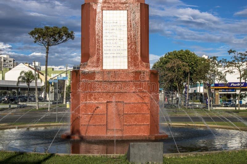 耶路撒冷的纪念碑 库存图片