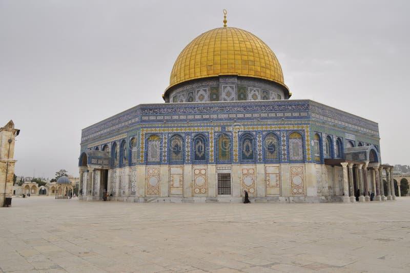 耶路撒冷,岩石的圆顶 免版税图库摄影