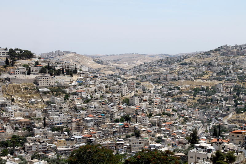 耶路撒冷 库存照片