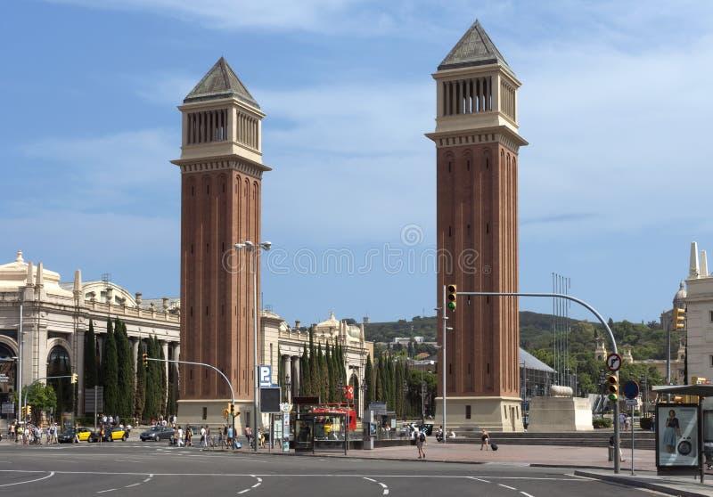 耸立威尼斯式 库存图片