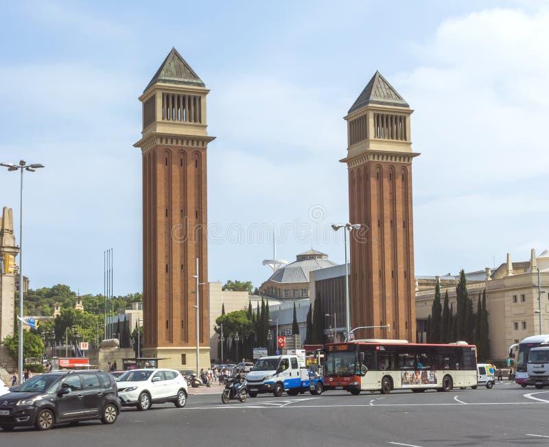 耸立威尼斯式 免版税库存照片