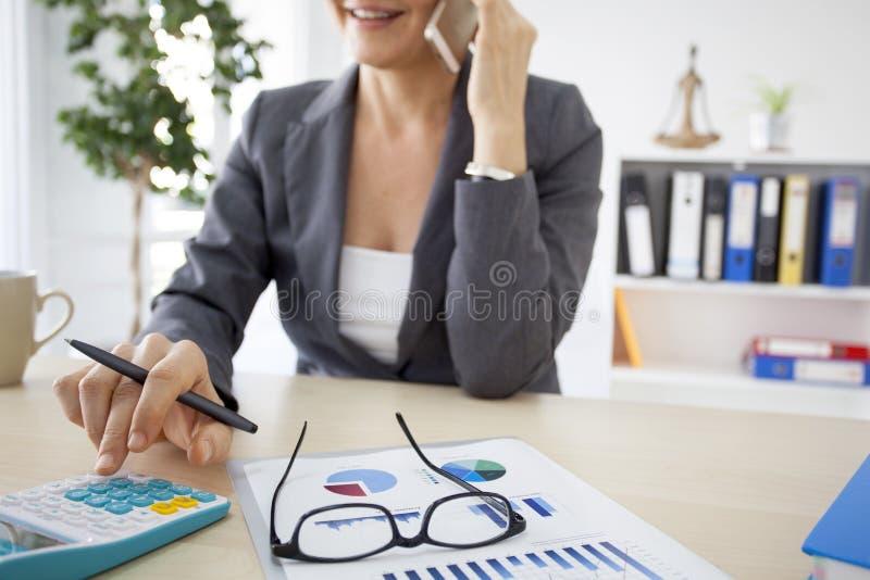 职业妇女 免版税图库摄影