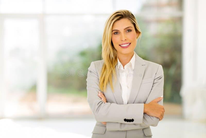 年轻职业妇女 库存图片