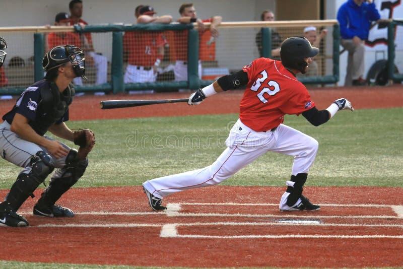 职业棒球比赛 免版税库存图片