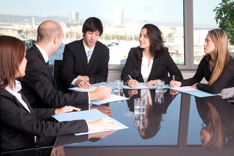 职员会议 免版税库存照片