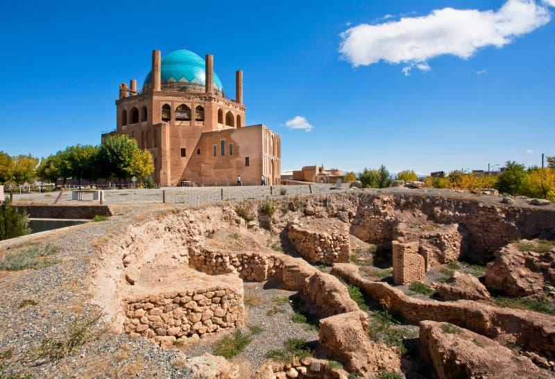 联合国科教文组织世界遗产名录站点,所谓的伊朗人泰姬陵 免版税库存照片