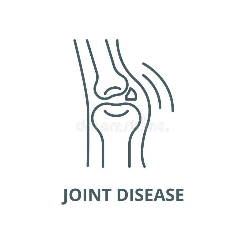 联合疾病传染媒介线象,线性概念,概述标志,标志 向量例证