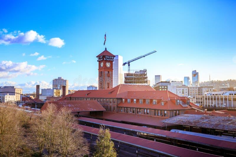 联合驻地火车运输复杂修造的尖沙咀钟楼 库存图片