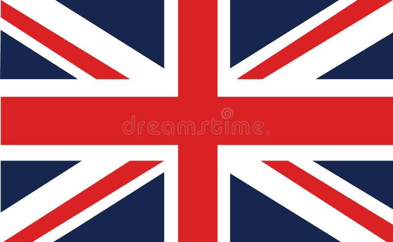 联盟标志或英国国旗 向量例证