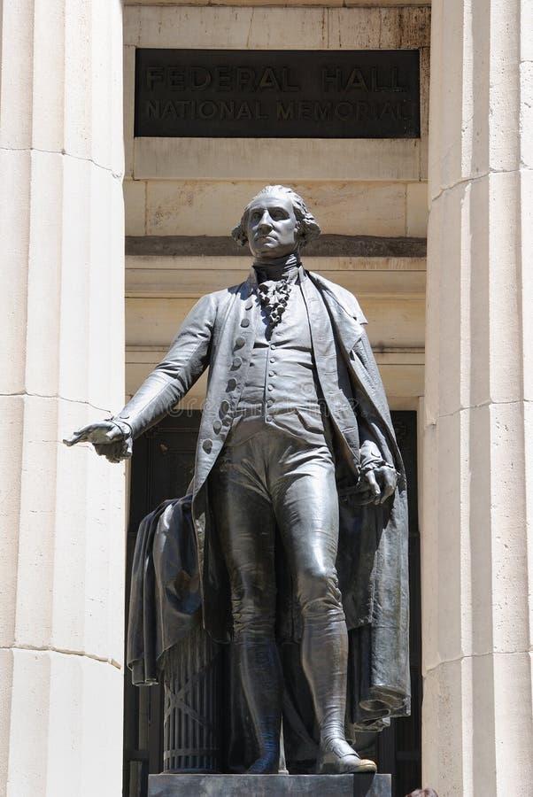联邦乔治大厅华盛顿 库存图片