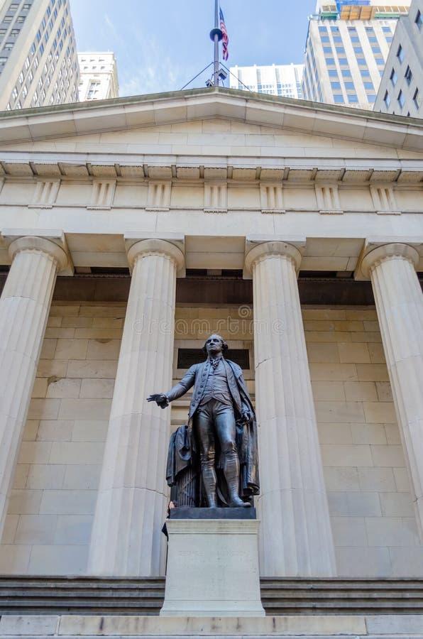联邦国家纪念堂,纽约 库存照片
