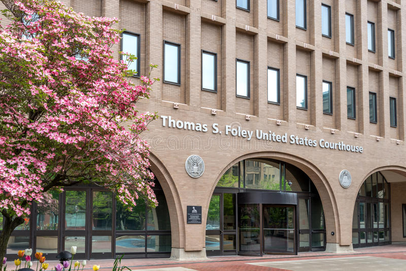 联邦法院在斯波肯,华盛顿 图库摄影