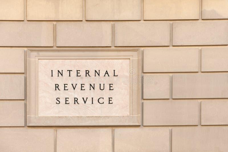 联邦税务局大厦 免版税库存图片
