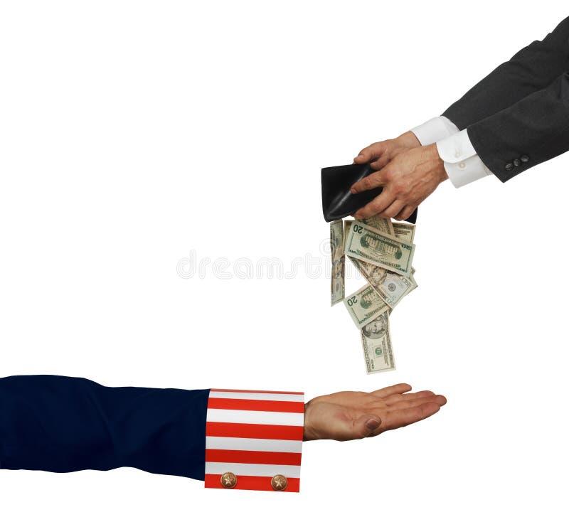 联邦税务局 库存图片