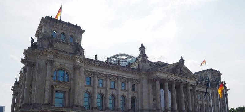 联邦议会议会在柏林 库存照片
