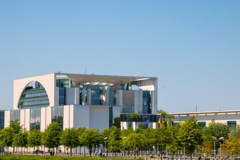联邦chancellerey bundeskanzleramt在柏林 库存照片