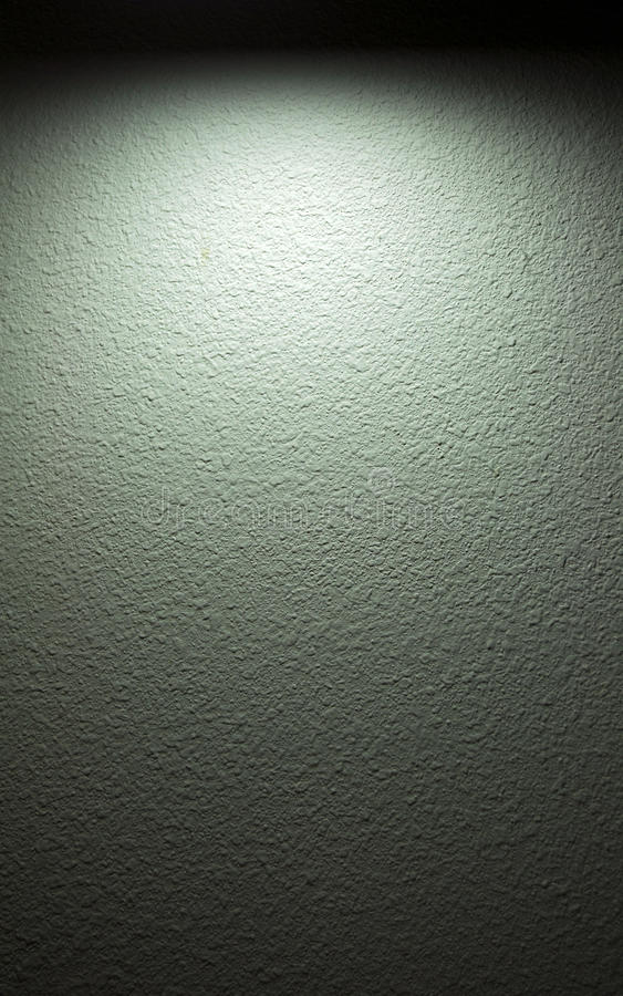 聚光灯墙壁 免版税图库摄影