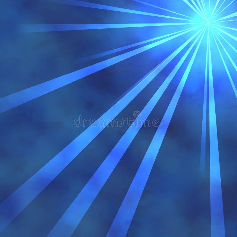 聚光灯星期日 向量例证