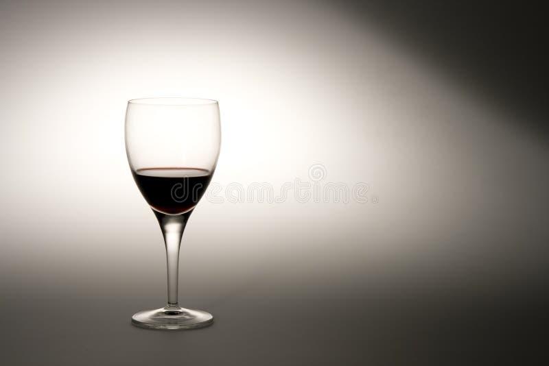 聚光灯酒 免版税库存照片
