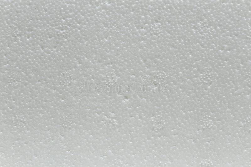 聚苯乙烯泡沫塑料板材 库存照片