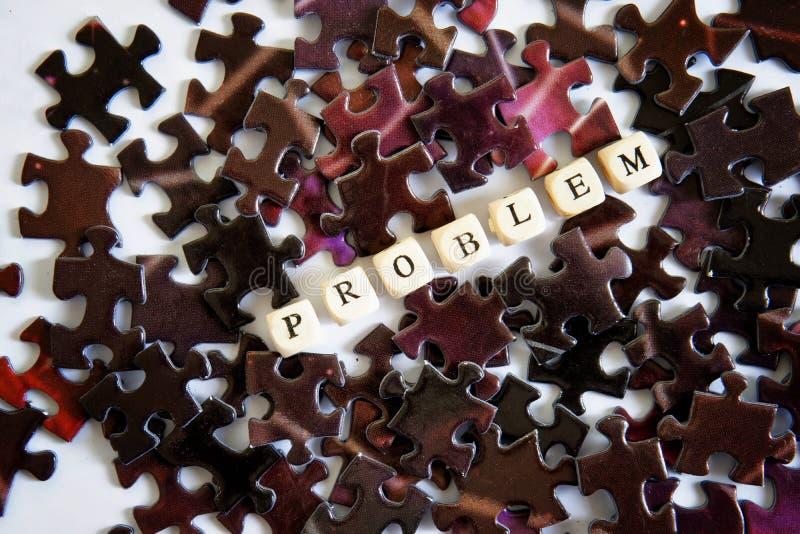 聚集的难题 解决复杂问题 在问题情况外面的机会 库存图片