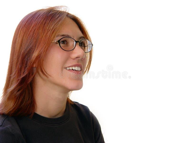 Download 聪慧的学员 库存照片. 图片 包括有 玻璃, 青少年, 青年时期, 空白, 愉快, 人们, 商业, 查出, 红头发人 - 64716