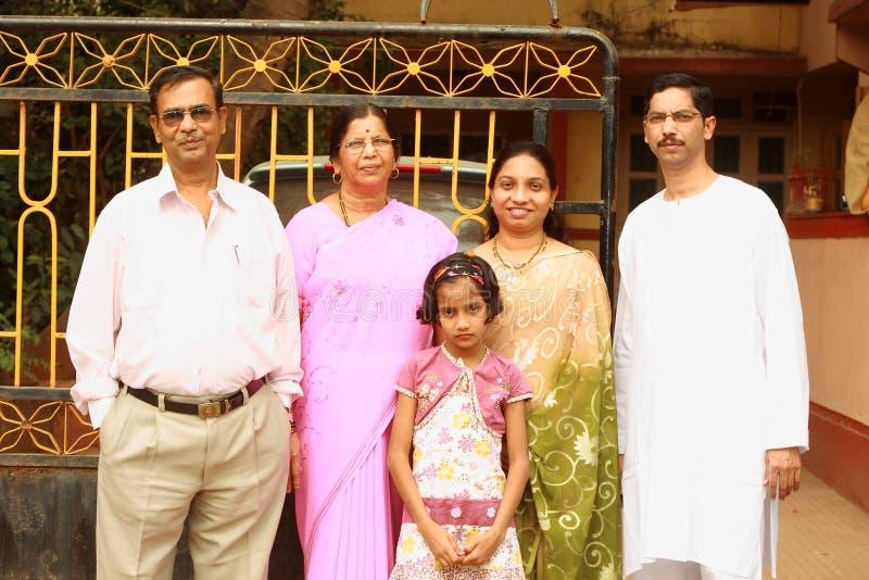 聪慧的系列愉快的印地安人 免版税库存照片