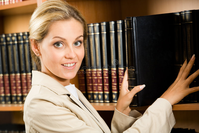 聪明的妇女 免版税图库摄影