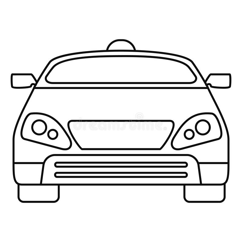 聪明的现代汽车象,概述样式 皇族释放例证