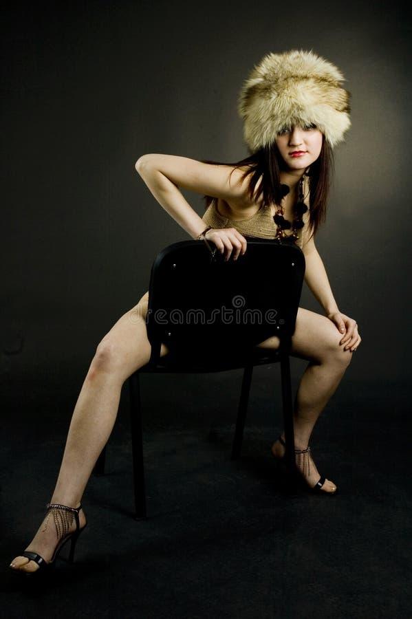 肉欲的妇女 库存图片