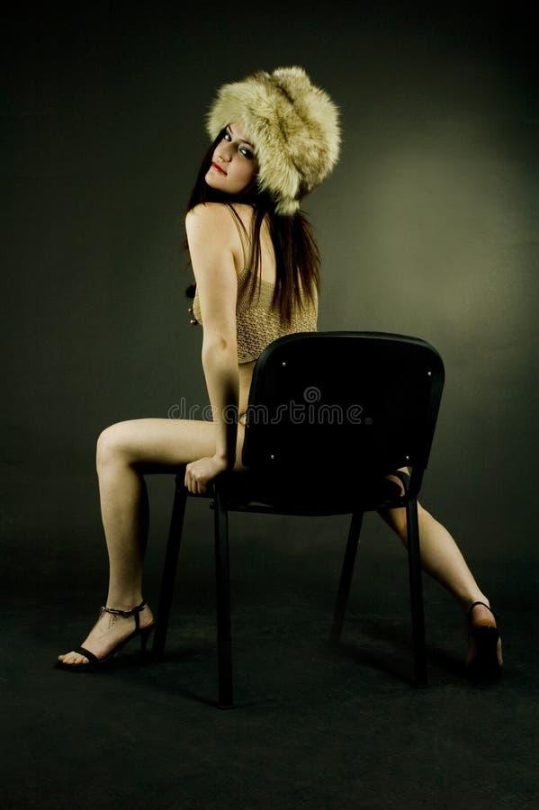 肉欲的妇女 免版税库存图片