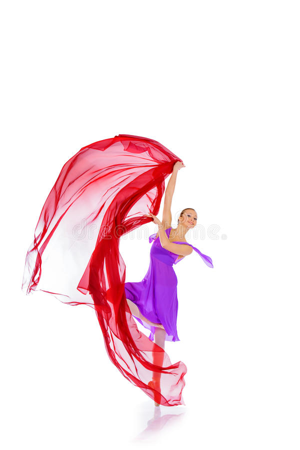 肉欲的舞蹈家 图库摄影
