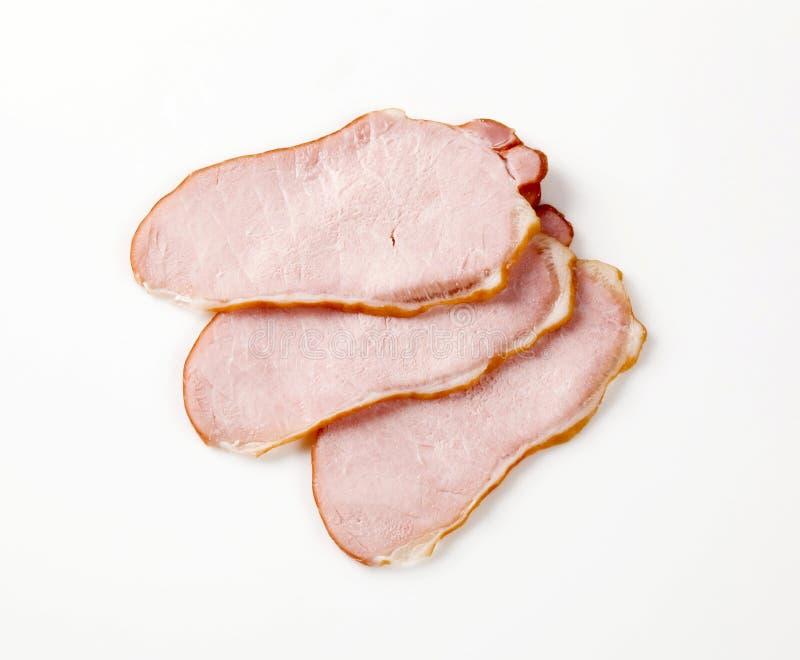 肉片式抽烟了 免版税库存图片