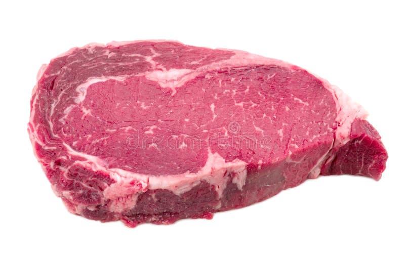 肉片牛肉边 库存照片
