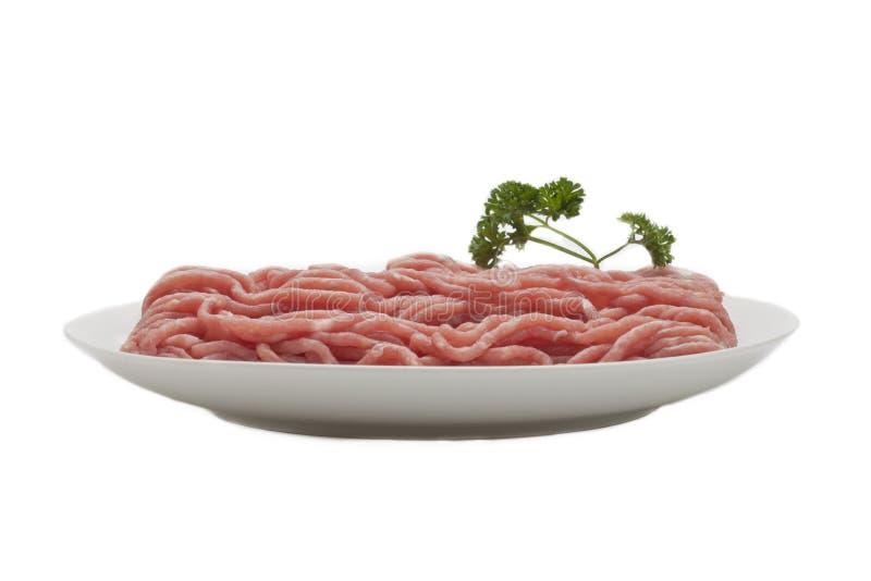 肉牌照  免版税库存图片